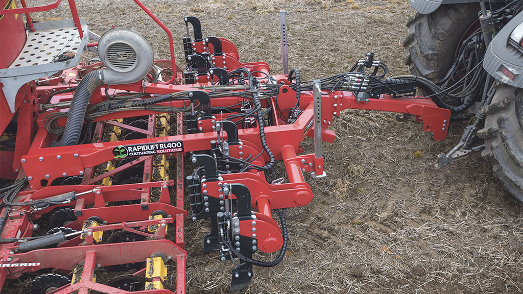 Time for change: Developing and adapting tillage equipment creates more control