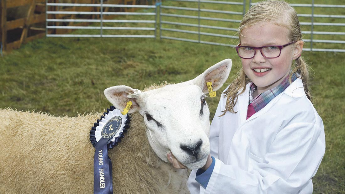 Monsoon-like conditions fail to dampen spirits at Fermanagh Show