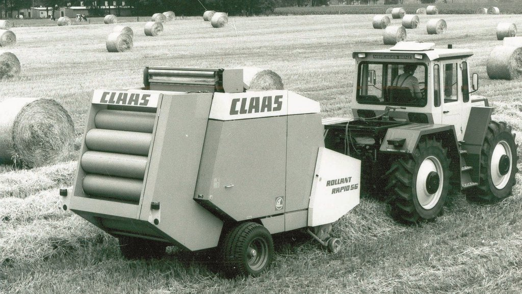 Claas Rollant Rapid