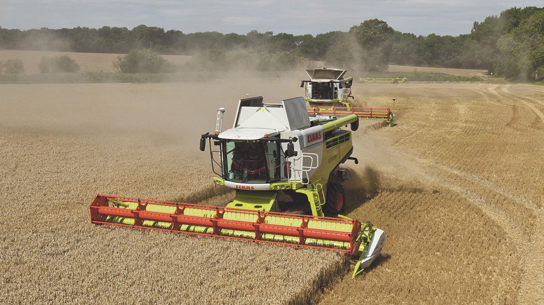 Top specification Claas Lexion combine