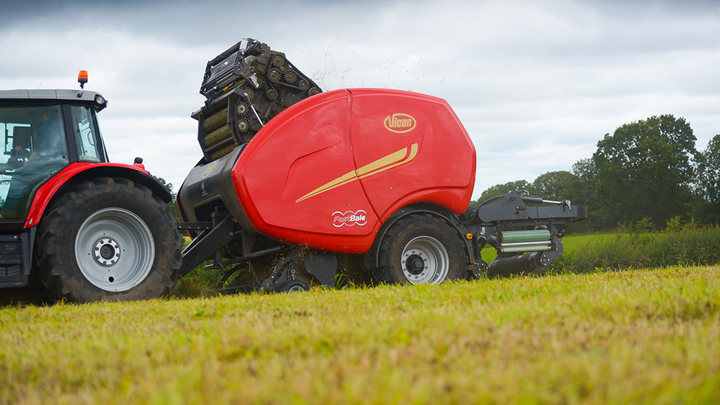 Vicon's FastBale is one of several significant product developments for the Kverneland Group.