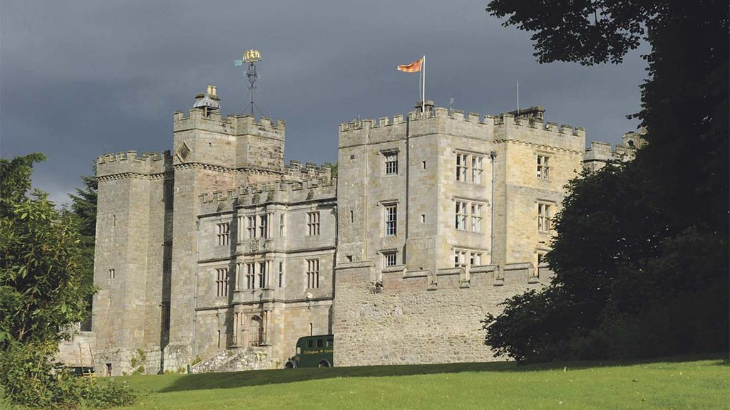 Chillingham Castle sits in the grounds of Chillingham Park