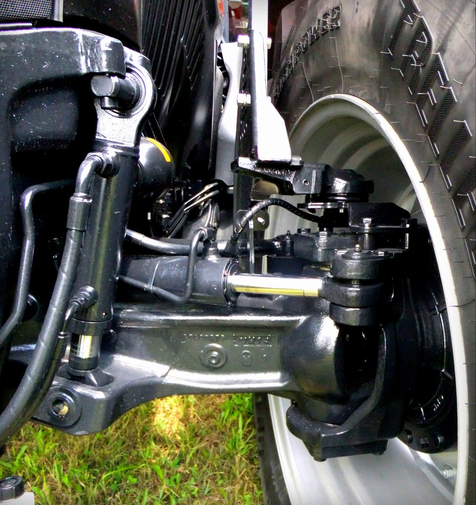 Tractor Front Suspension : Case ih targets deere and fendt with new optum tractor
