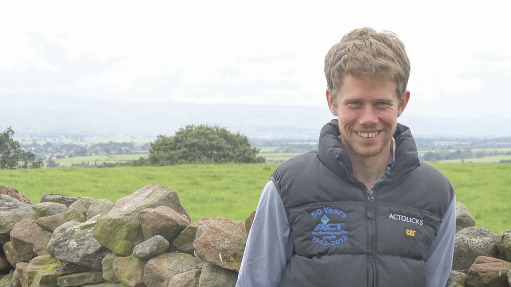 James Tweedie, South Dyke Farm, Great Salkeld, Penrith, Cumbria