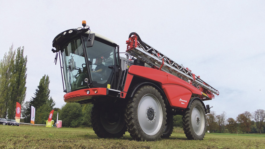 Vicon to re-enter self propelled sprayer market