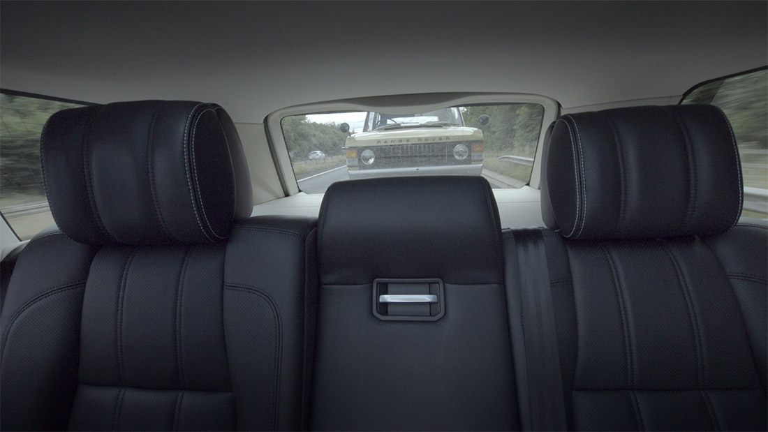Land Rover tests 'transparent' trailer technology