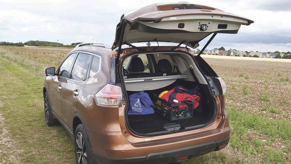 nissan x trail luggage capacity auto cars
