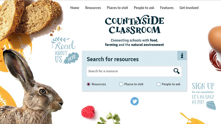 New website brings countryside into the classroom