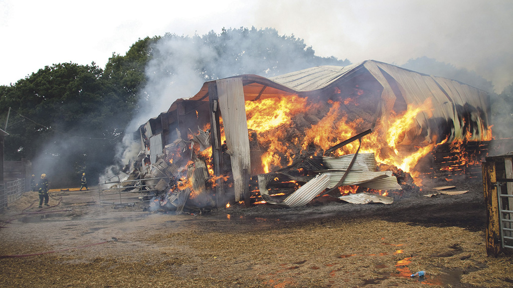 Farm fire claims total staggering £47.9 million in 2015