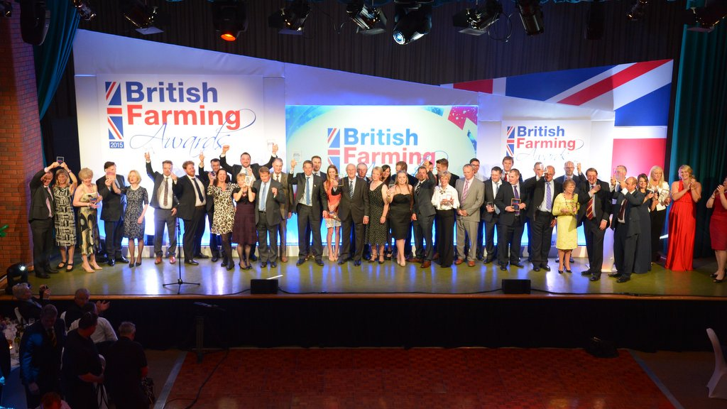 Winners announced - Fantastic night at the British Farming Awards