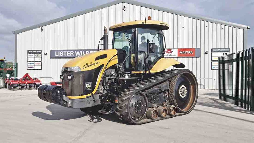 Buyer's guide: Challenger MT700-series tracked tractor