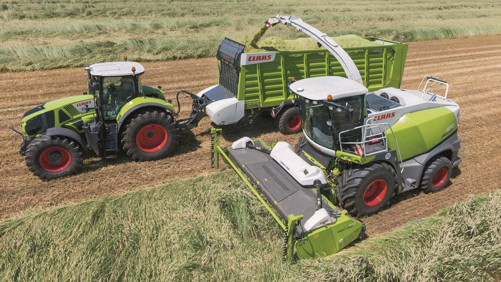 Claas updates Jaguar foragers
