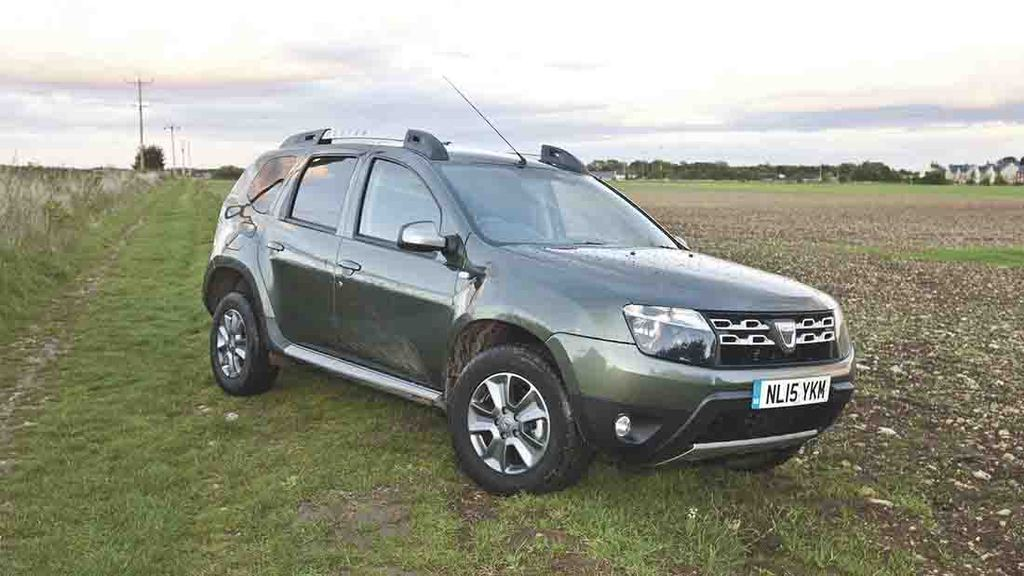 on test top value offered by dacia duster insights farmers guardian. Black Bedroom Furniture Sets. Home Design Ideas