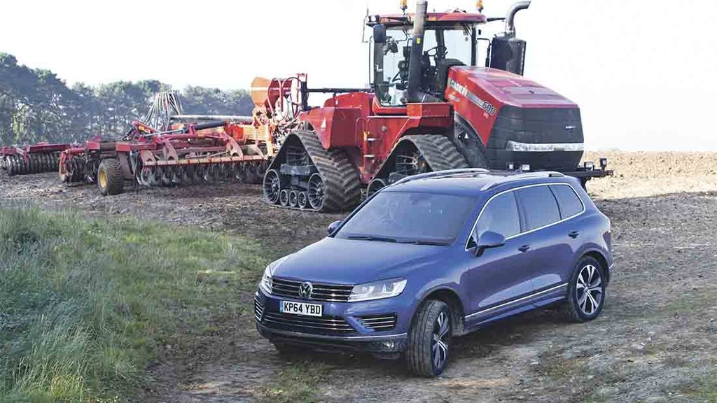 On-test: Touareg does the job