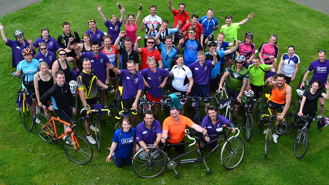 SAYFC encouraged members to 'get on your bike'