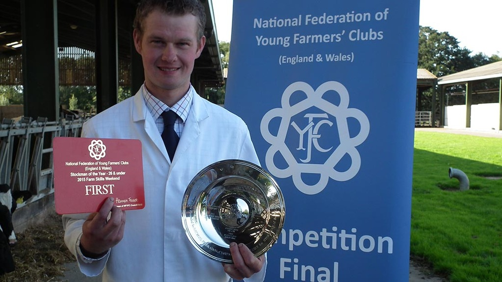 Stockjudging history made at NFYFC Farm Skills Weekend