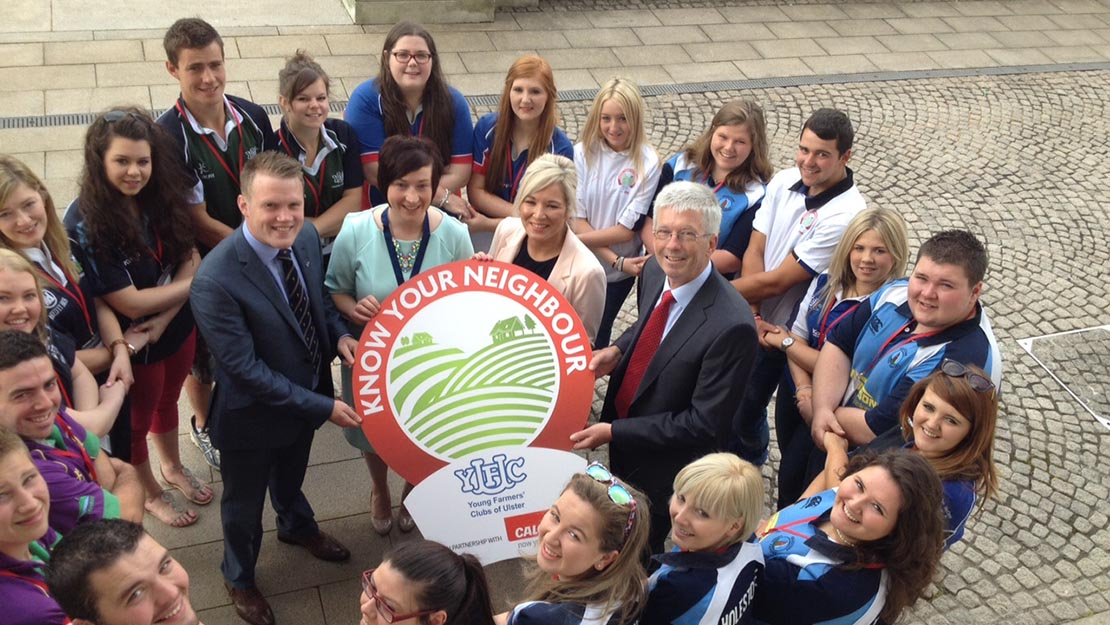 Agriculture Minister announces £150,000 funding for YFCU