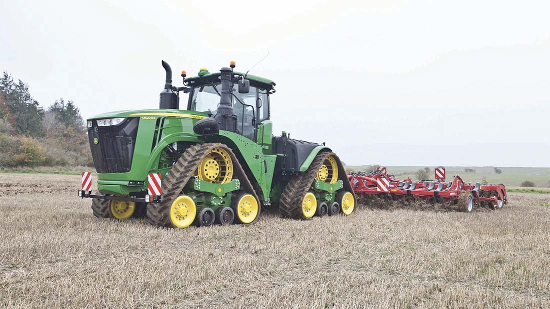 VIDEO: On-test: Watch the long-awaited John Deere 9RX in action