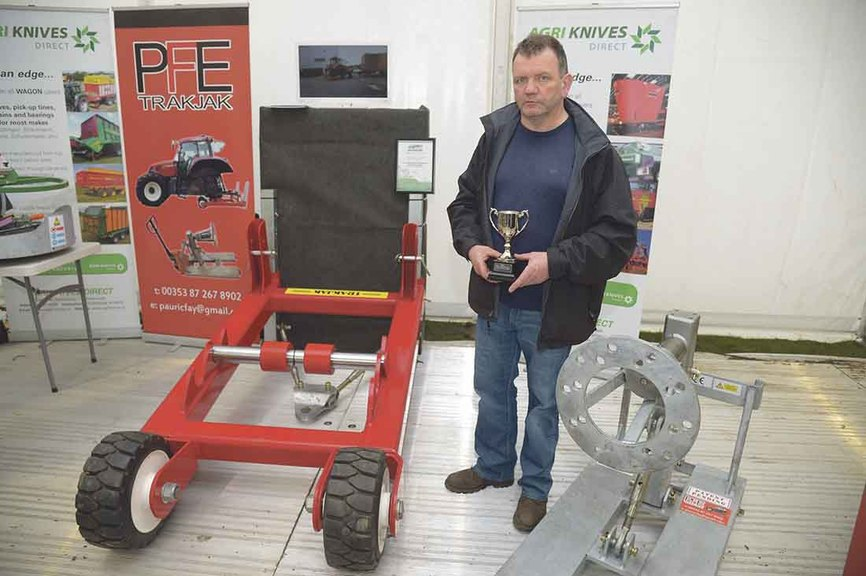 Farm Machinery and Equipment Innovation Award in association with the Farmers Guardian - Trakjak