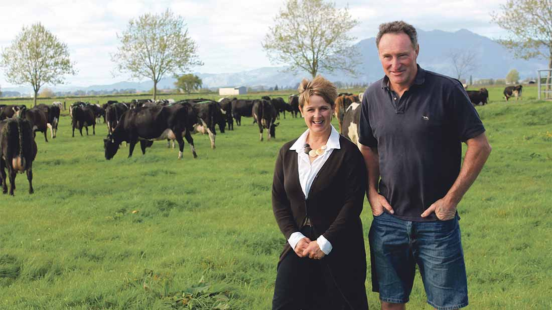 David and Sue Fish - 1,300 dairy cows