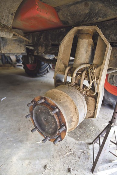 Suspension and wheel motors