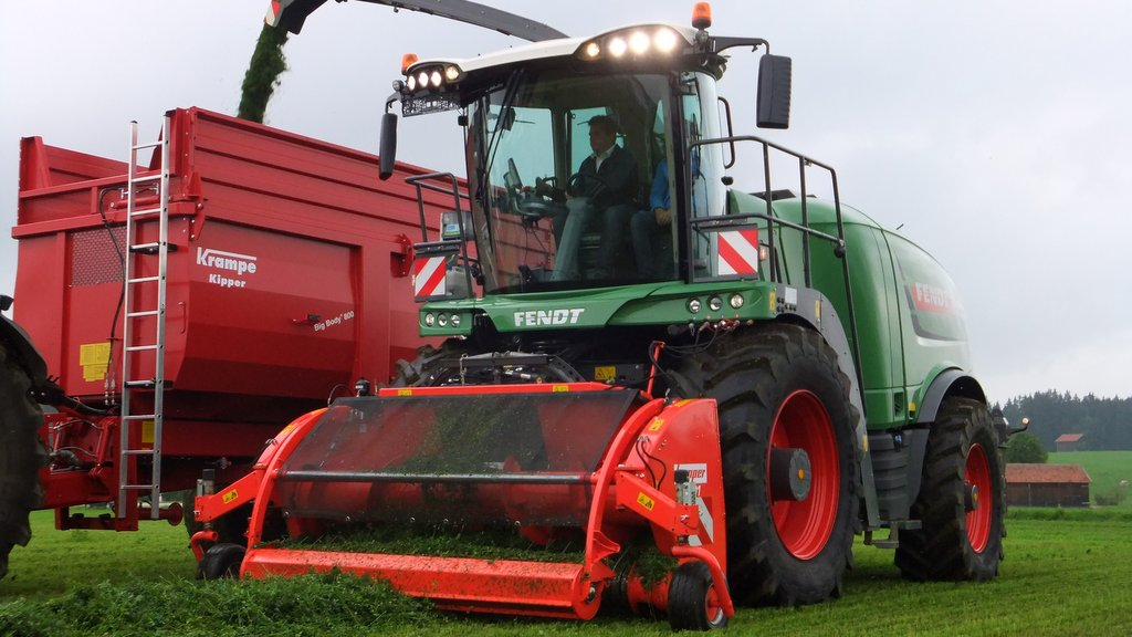 Fendt updates Katana forager for 2016 season