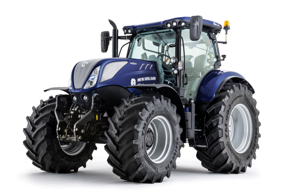 Blue Holland Tractors : Win it s your chance to bag exclusive new holland t