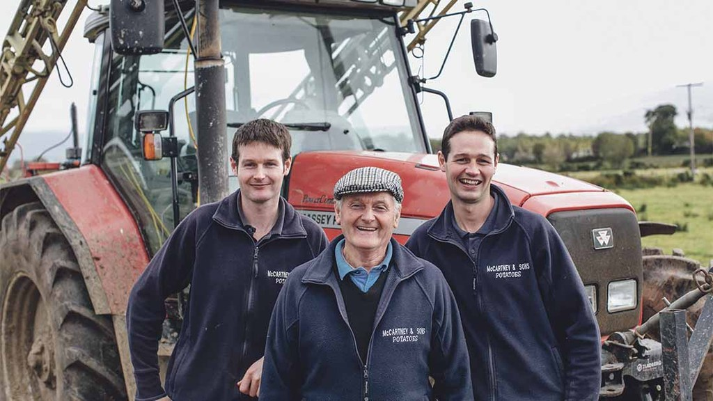 Determination to grow makes Northern Ireland family's potato partnership perfect