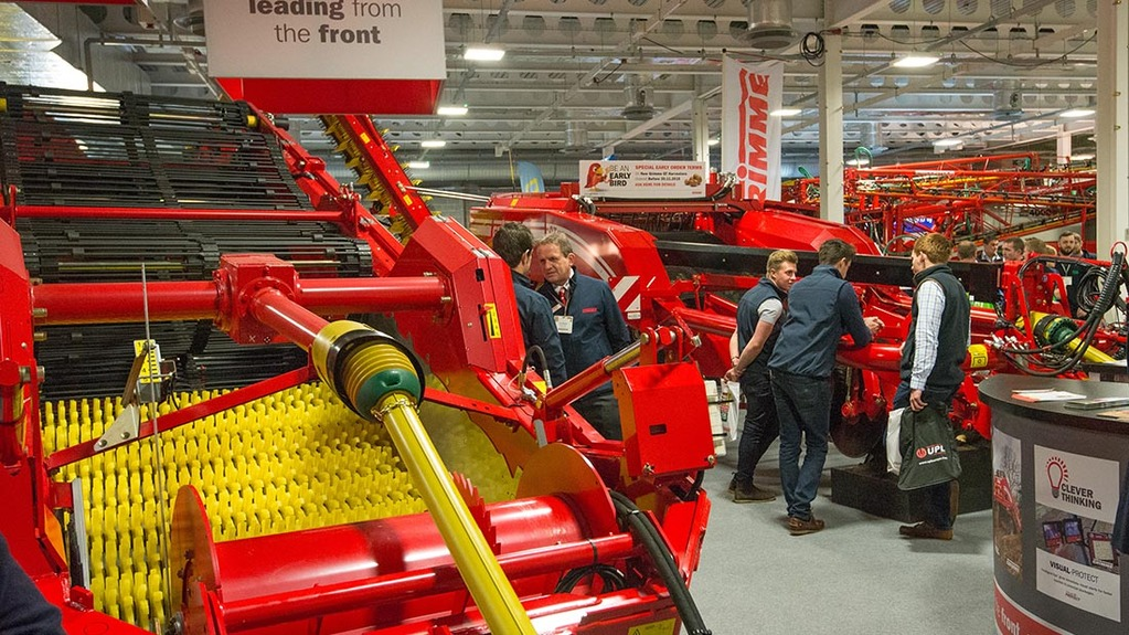 British Potato Event 2015: Packhouse technology dominates developments