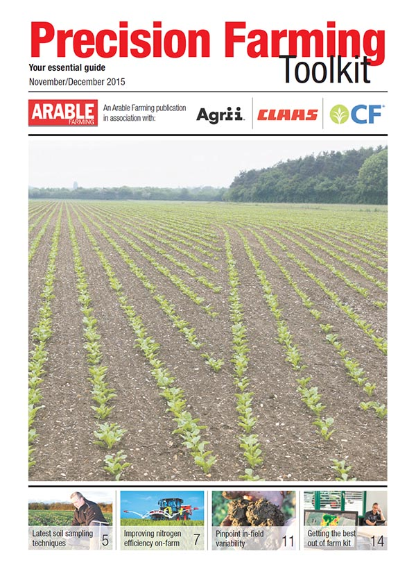Precision Farming Toolkit - November/December 2015