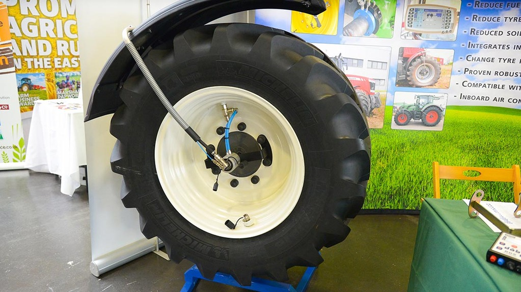Tract Air central tyre inflation system