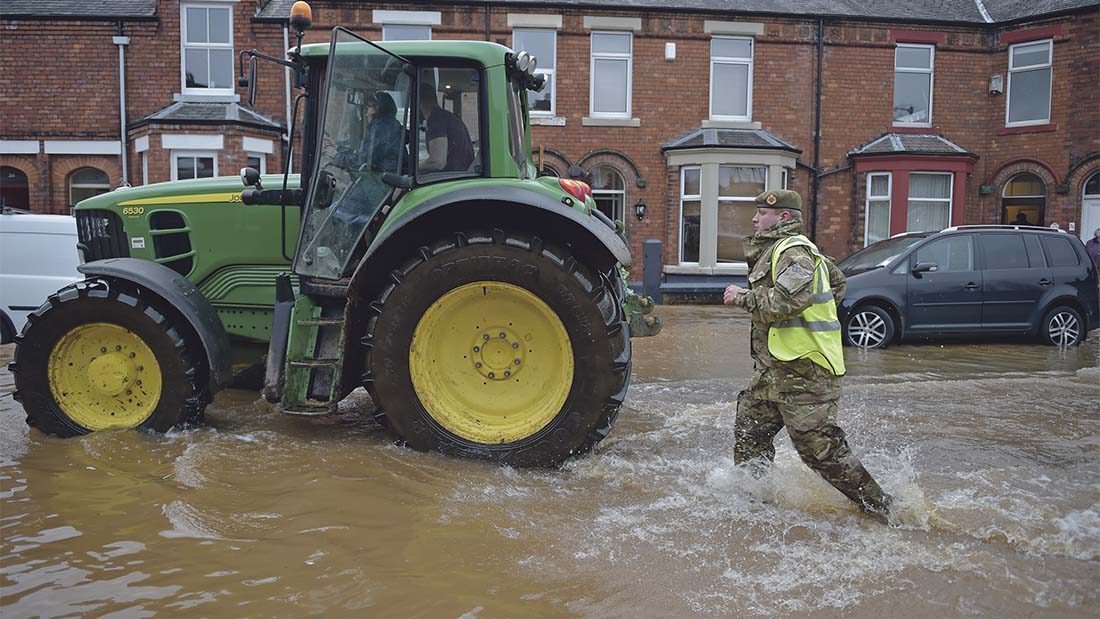 Farmers pledge support as floods cause carnage in Cumbria and Scottish Borders