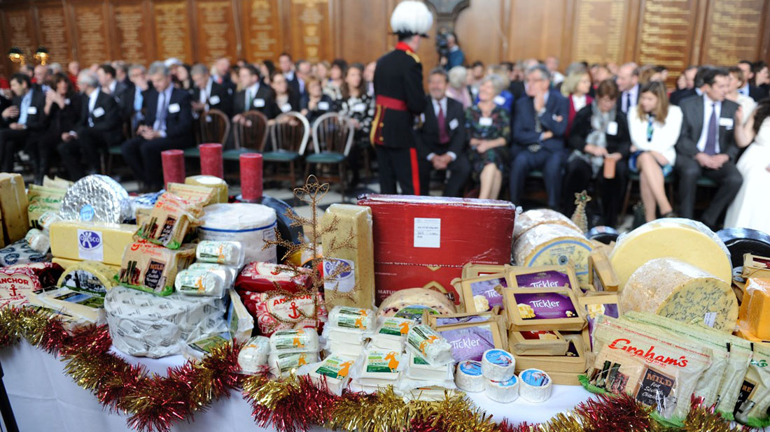 British cheese celebrated at annual Chelsea ceremony