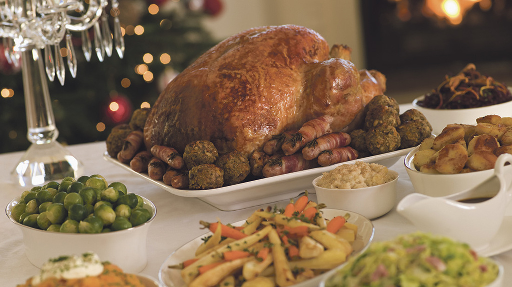 Recycling Christmas dinner leftovers could power a house for 57 years