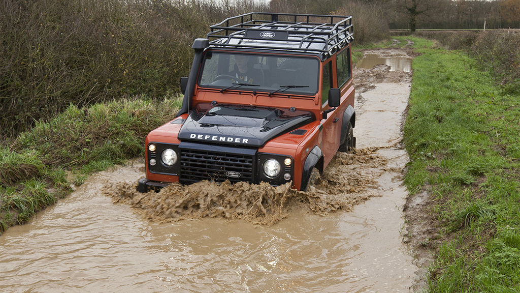 Land Rover Defender bows out in style