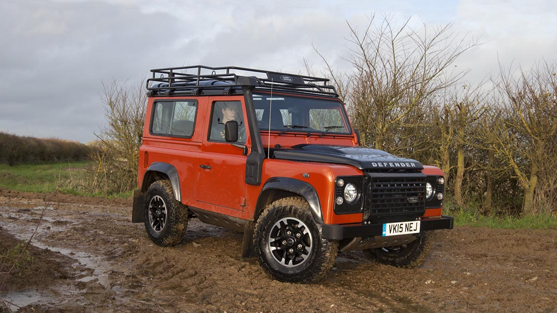 Land Rover Defender owners beware as thefts rocket