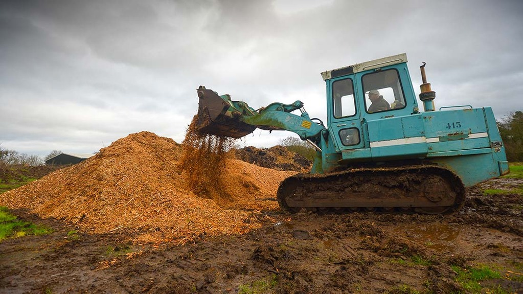 Composting on-site to boost soil organic matter