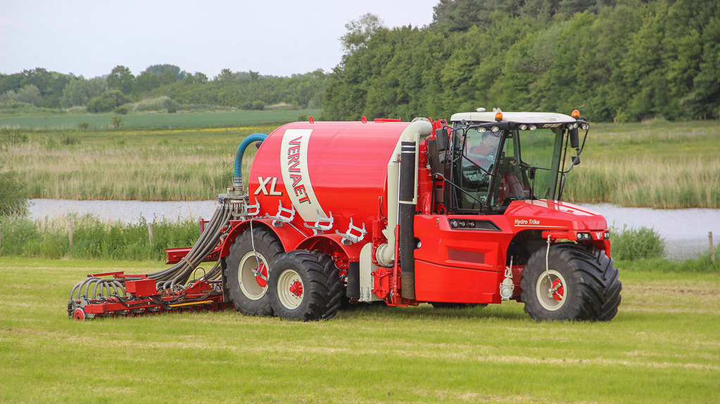 Muck and slurry 2015: Spreading on a large scale