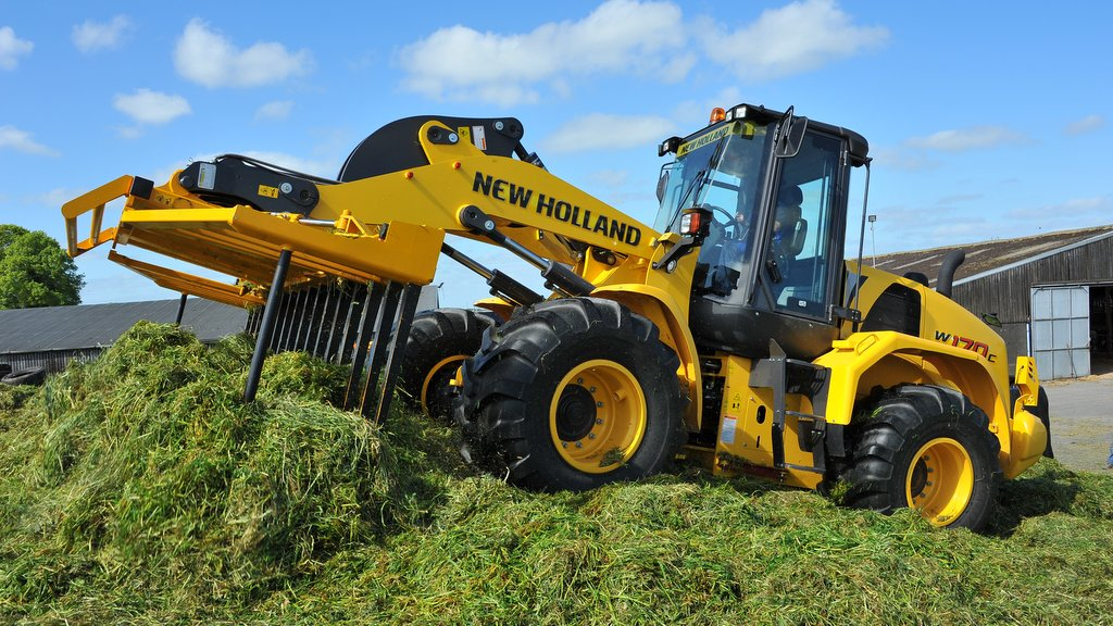 On-test: New Holland W170C wheeled loader
