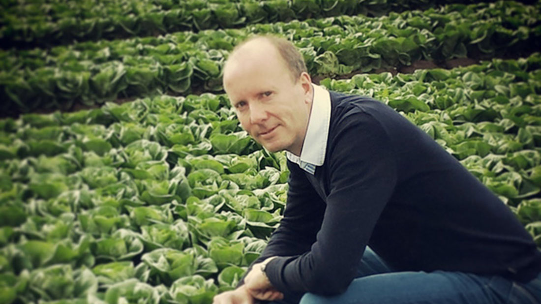 Shropshire farmer Philip Maddock identified a market for his unwanted crops.