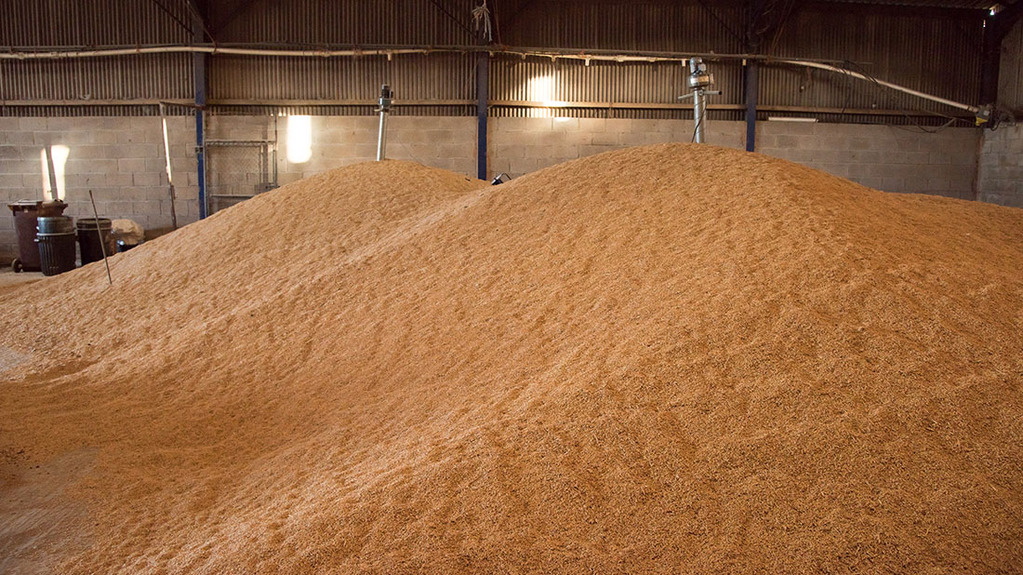Larger grain carryover creates storage hotspots