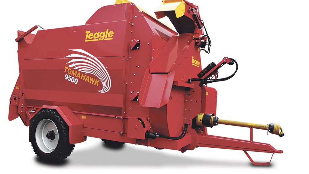 Teagle launches new Tomahawk 9500 feeder bedder