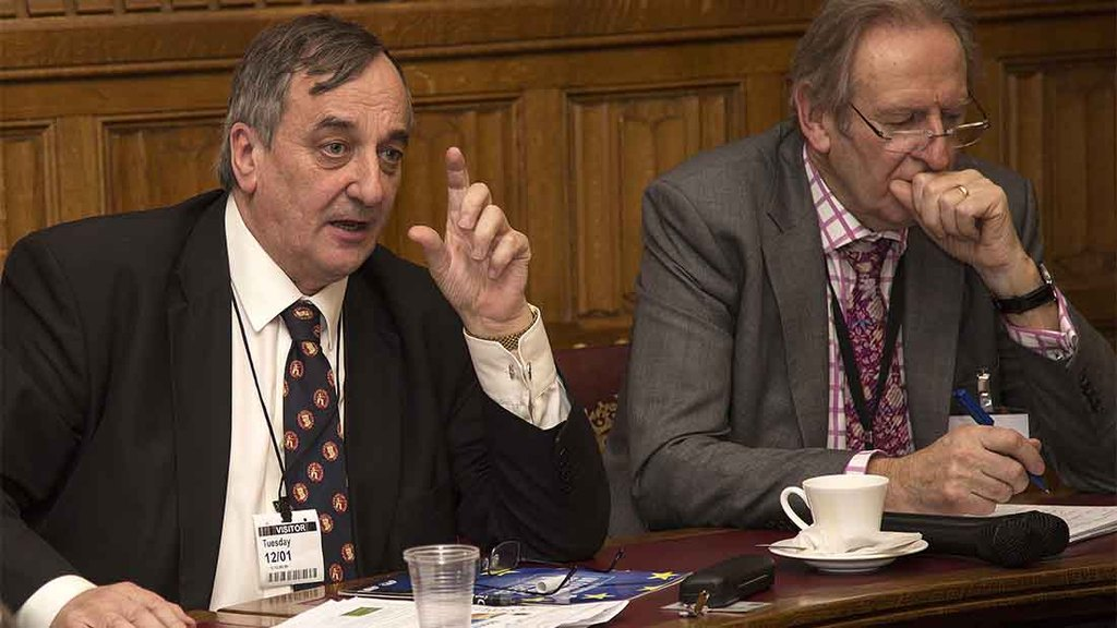 Meurig Raymond at the Guild of Agricultural Journalists referendum debate