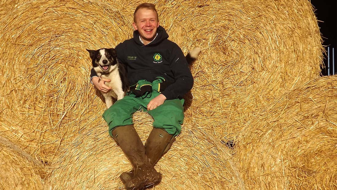 Chris Manley, 31, Culm Valley YFC, Devon