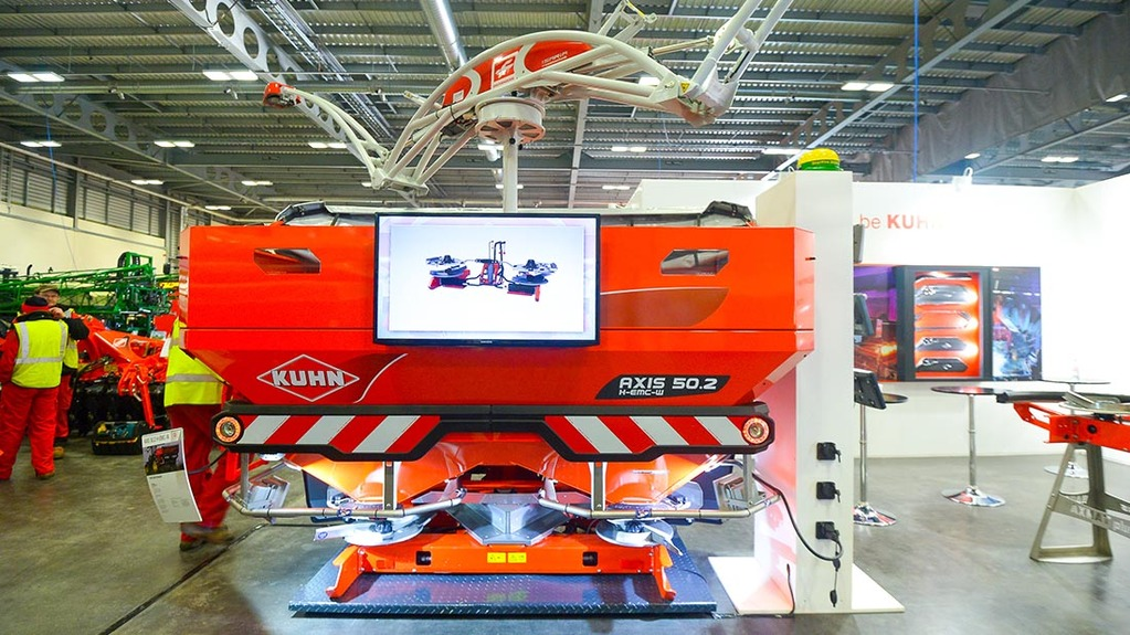 Kuhn Axis 2 fertiliser spreaders
