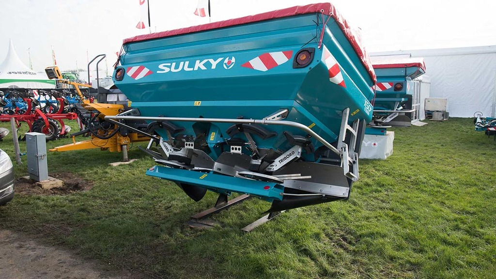 Sulky-Burel Econov fertiliser spreaders