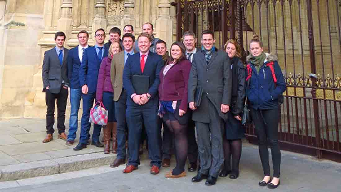 Young potato 'ambassadors' visit Houses of Parliament to meet with MPs