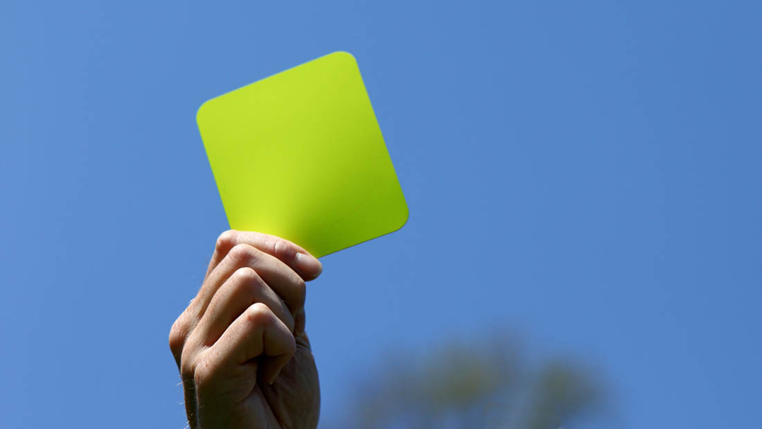 Hogan announces CAP penalty yellow card system