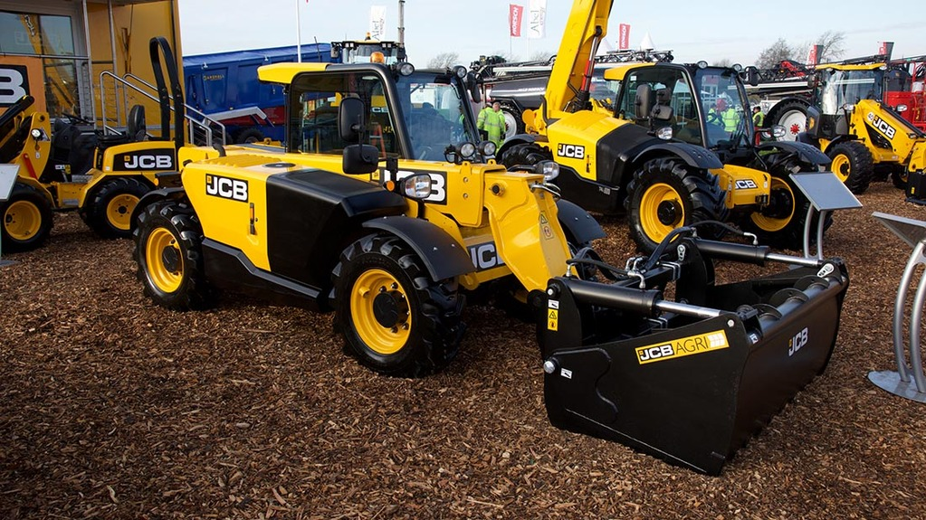 JCB shear grab for Loadall