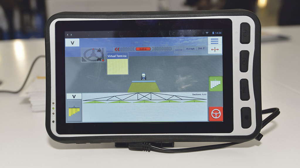 Trimble MMX-070 display